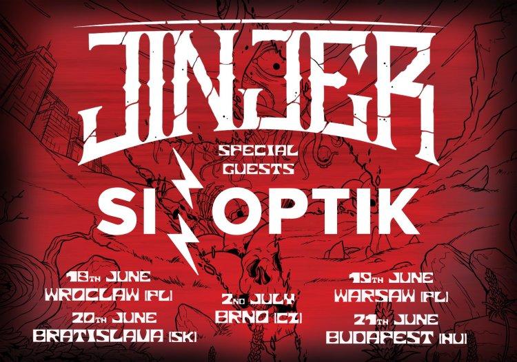 Tour Flyer Eastern Europe Jinjer